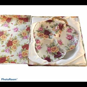 🆕 Ace Gift Collection Beautiful Floral Plate